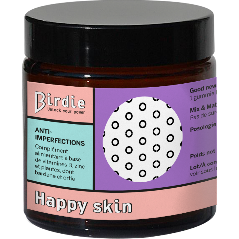 Happy skin