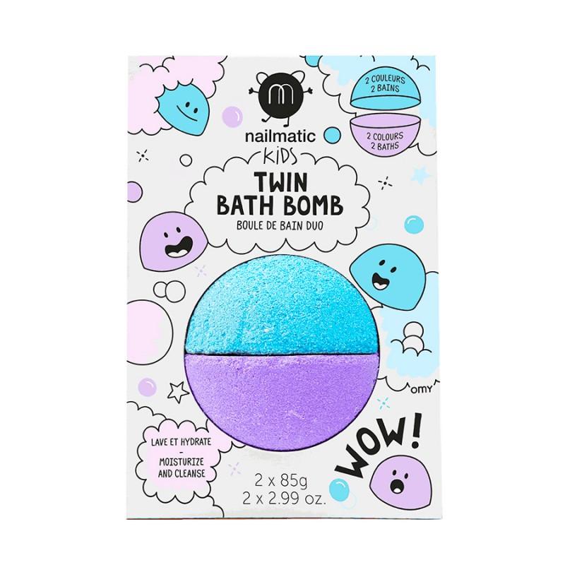 Boule de bain duo bleu & violet